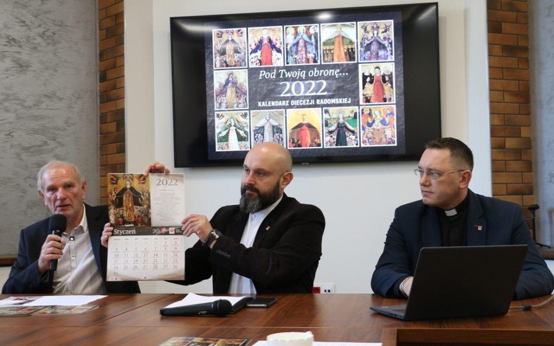 Ukazał się kalendarz diecezji radomskiej na2022 rok